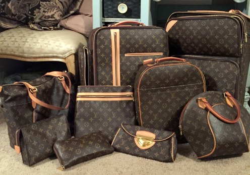 Globetrotting Prep Guide - LV bags