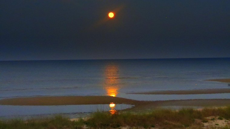 The Little Things - Post 3 - Full moon sunset.JPG