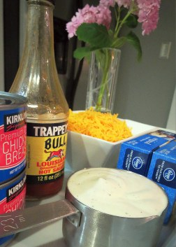 Buffalo Chicken Dip - Ingredients (1)