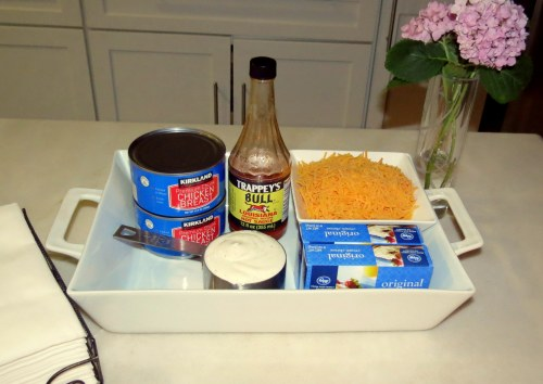 Buffalo Chicken Dip - Ingredients (2)