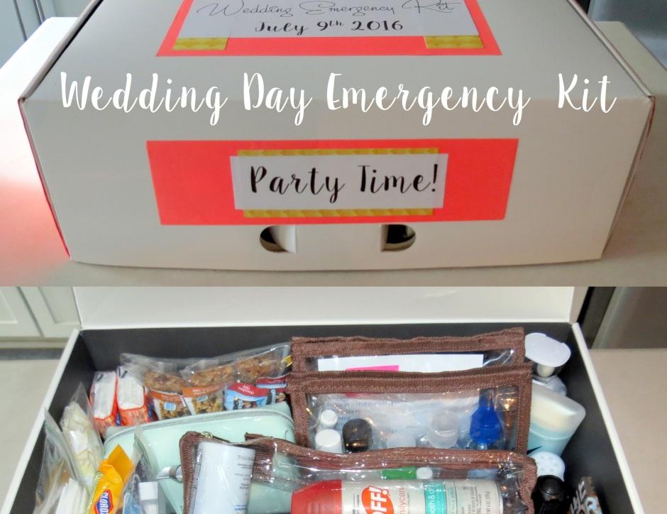 Diy Wedding Emergency Kit Bellinis On Bellemeade