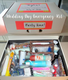 DIY - Wedding Emergency Kit - Main Image