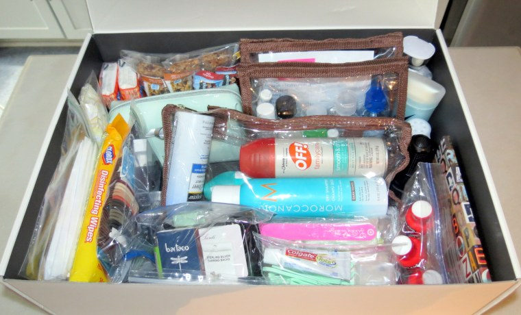 DIY - Wedding Emergency Kit -Packed box.JPG