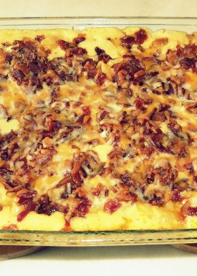 Bacon-Covered Crock-Pot Mac & Cheese - Main Image