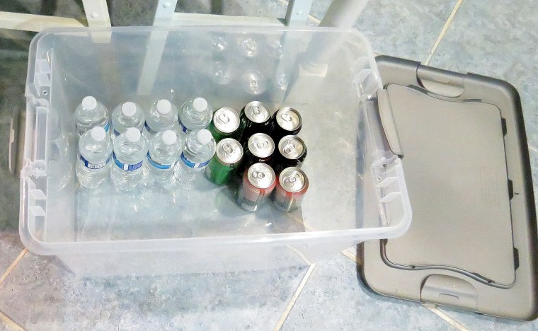 Hospital Care Pakcage - Plastic storage bin.JPG