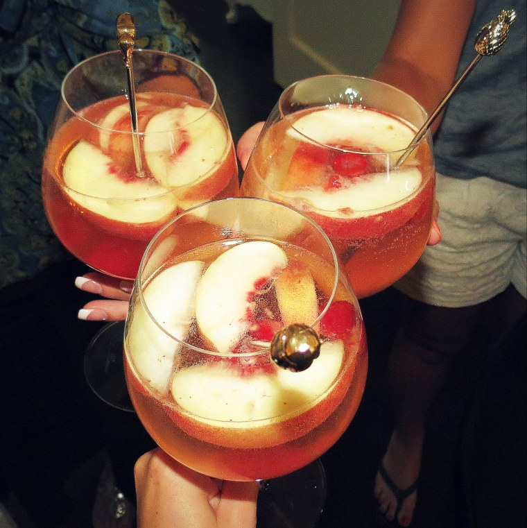 Peach Birthday Sangria - Cheers!.JPG