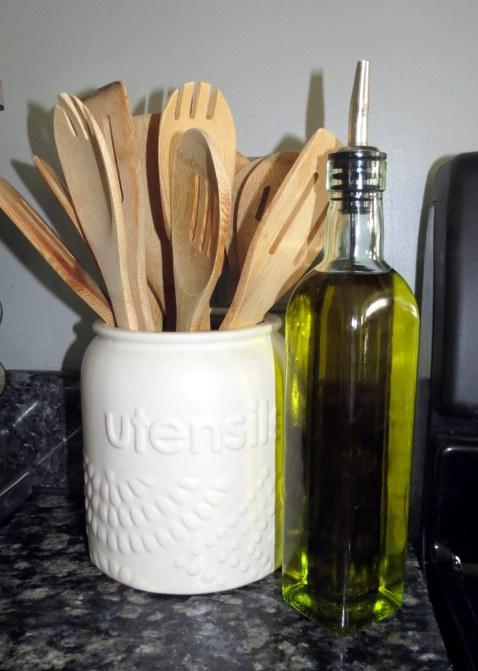 Olive Oil & Wooden Spoons.JPG