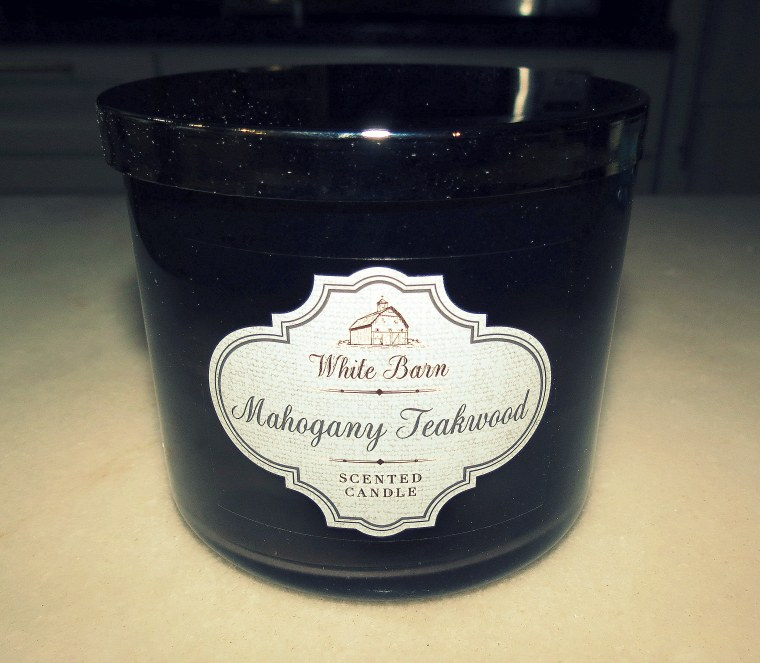 The Little Things - Post 5 - White Barn Candle - Mahogany Teakwood