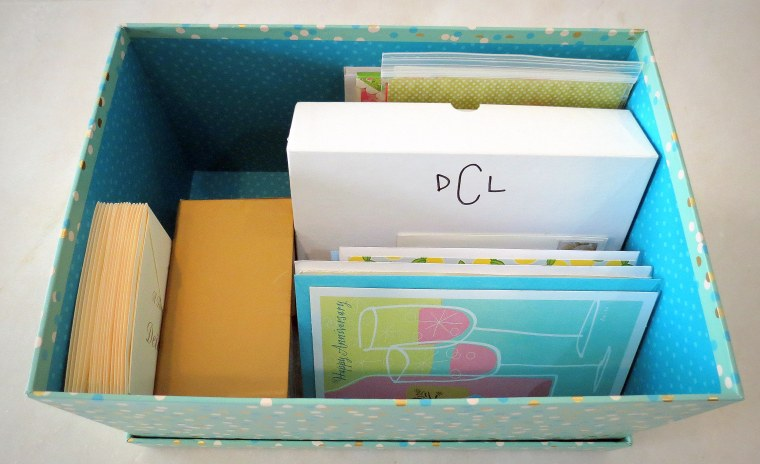 The Lost Art of Sending Thank You Notes - Box of cards.JPG