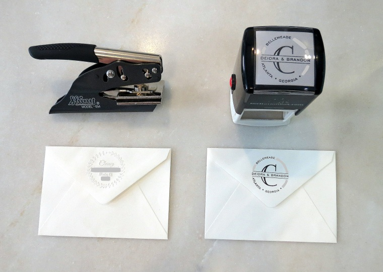 The Lost Art of Sending Thank You Notes - Return Address Options