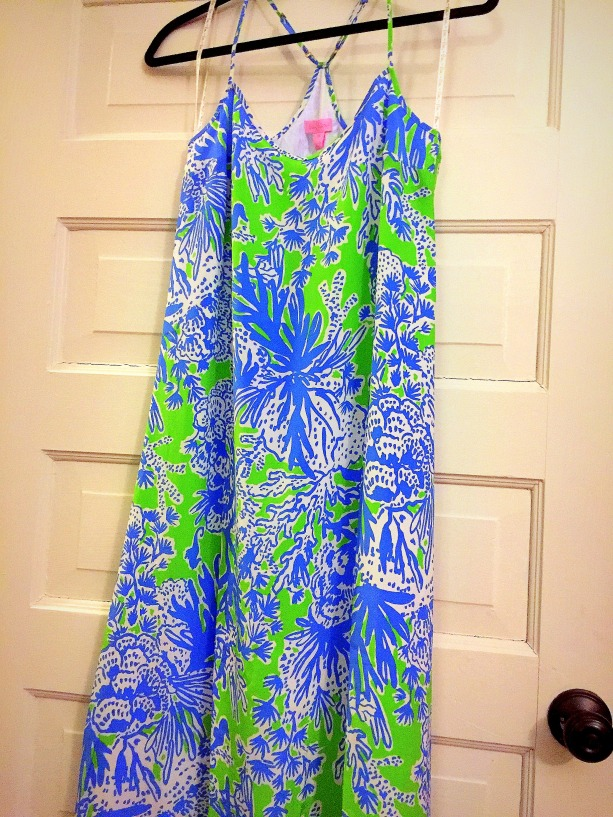 The Little Things - Post 5 - New Lilly Pulitzer Maxi.JPG