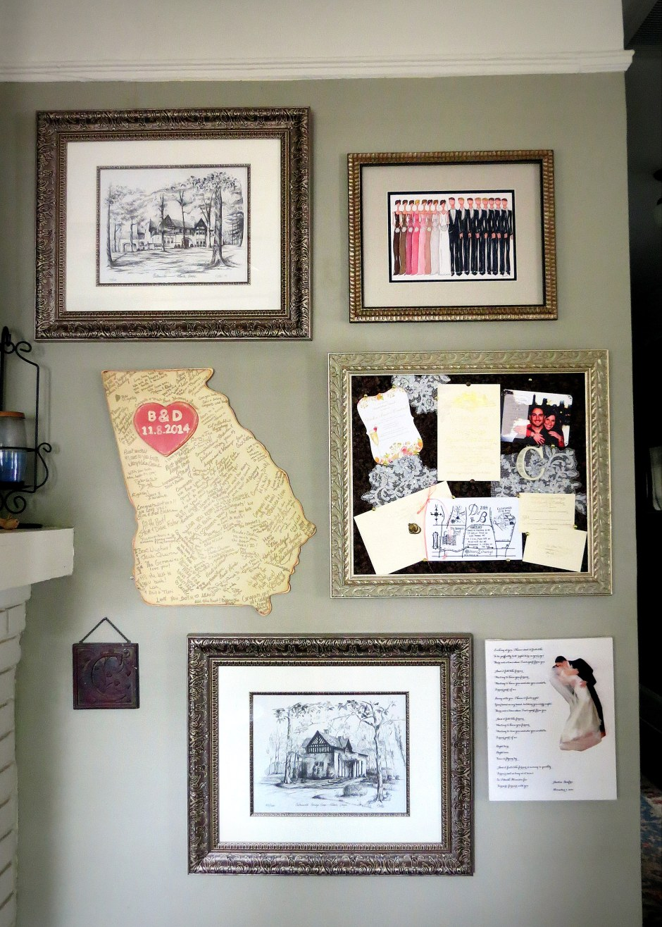 Wedding Gallery Collage- The Ultimate Personalized Wall Art ...