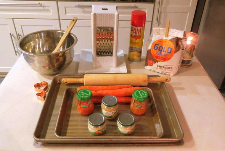Simple Homemade Organic Dog Treats - Ingredients.JPG